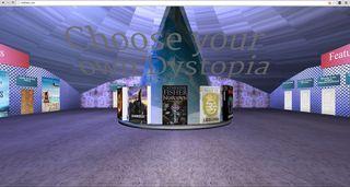 Inkflash - a Virtual Reality bookshop